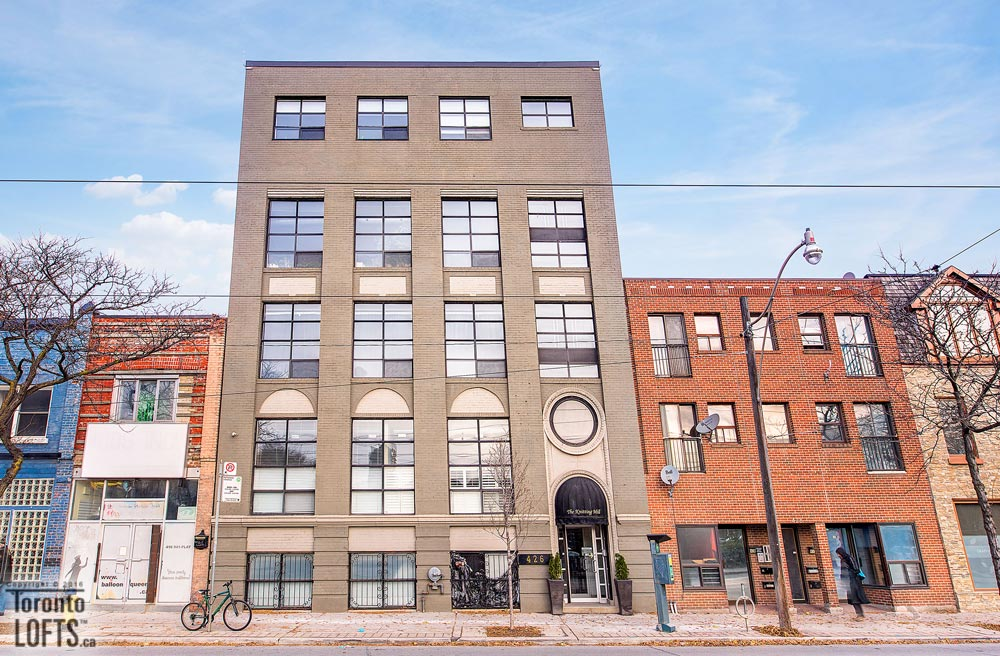 Knitting Mill Lofts-426 Queen St E #204