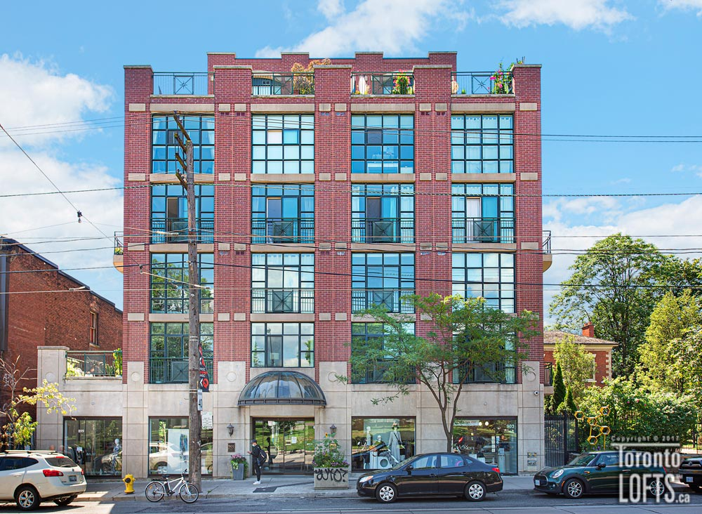 Trinity Park Lofts-901 Queen St W #621